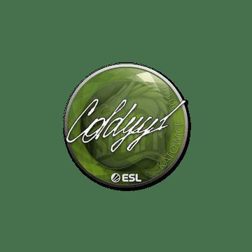 Sticker   COLDYY1   Katowice 2019