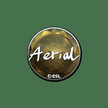 Sticker | Aerial (Foil) | Katowice 2019