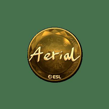 Sticker | Aerial (Gold) | Katowice 2019