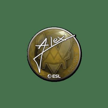 Sticker   ALEX   Katowice 2019