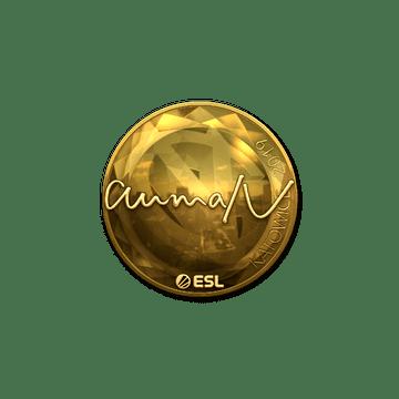 Sticker | aumaN (Gold) | Katowice 2019