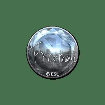 Sticker | Freeman (Foil) | Katowice 2019