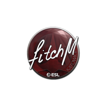 Sticker | fitch | Katowice 2019