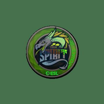 Sticker | Team Spirit (Holo) | Katowice 2019