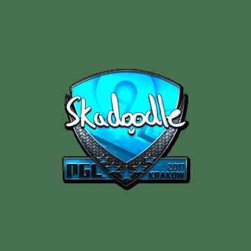 Sticker | Skadoodle (Foil) | Krakow 2017