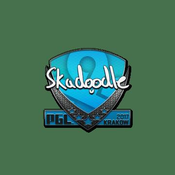 Sticker   Skadoodle   Krakow 2017