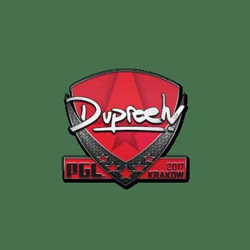 Sticker | dupreeh | Krakow 2017