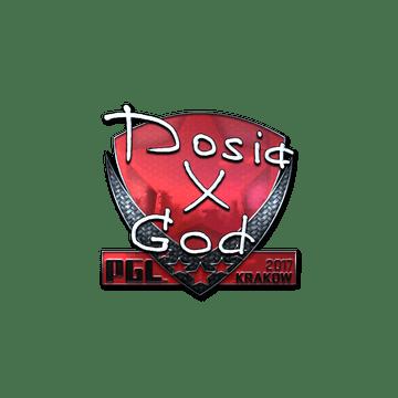 Sticker   Dosia (Foil)   Krakow 2017