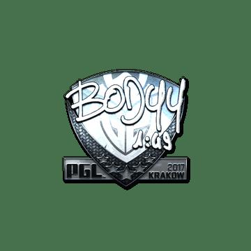 Sticker   bodyy (Foil)   Krakow 2017