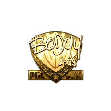 Sticker | bodyy (Gold) | Krakow 2017