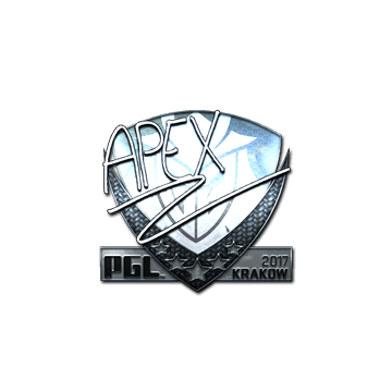 Sticker   apEX (Foil)   Krakow 2017