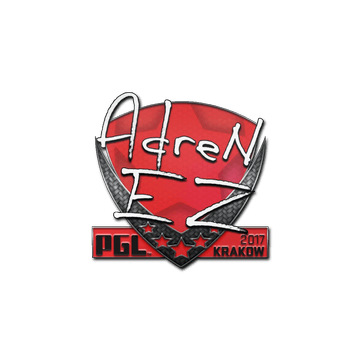 Sticker   AdreN   Krakow 2017