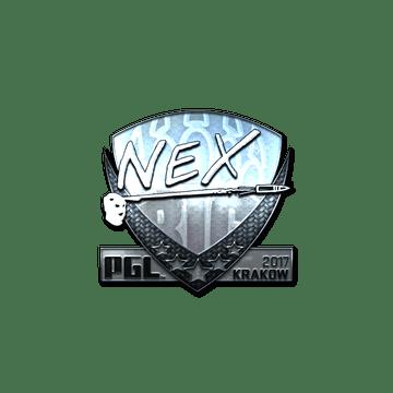 Sticker | nex (Foil) | Krakow 2017