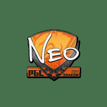 Sticker | NEO | Krakow 2017