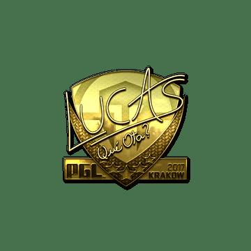 Sticker | LUCAS1 (Gold) | Krakow 2017