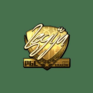 Sticker | LEGIJA (Gold) | Krakow 2017