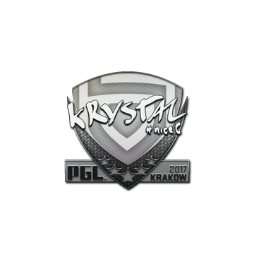 Sticker | kRYSTAL | Krakow 2017