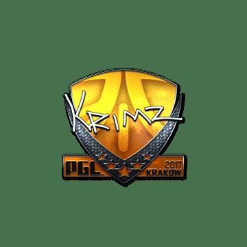 Sticker | KRIMZ (Foil) | Krakow 2017