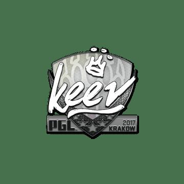 Sticker | keev | Krakow 2017