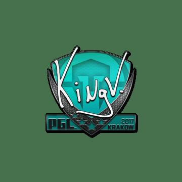 Sticker | kNgV- | Krakow 2017