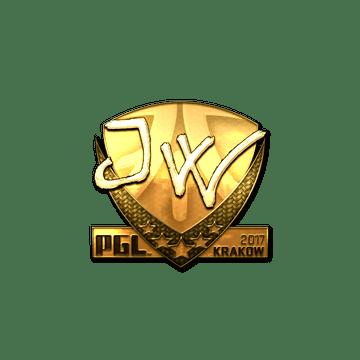 Sticker   JW (Gold)   Krakow 2017