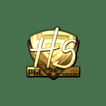 Sticker | HS (Gold) | Krakow 2017
