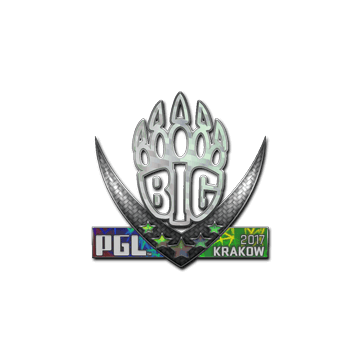 Sticker | BIG (Holo) | Krakow 2017