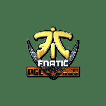 Sticker | Fnatic (Foil) | Krakow 2017