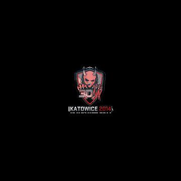 Sticker   3DMAX (Holo)   Katowice 2014