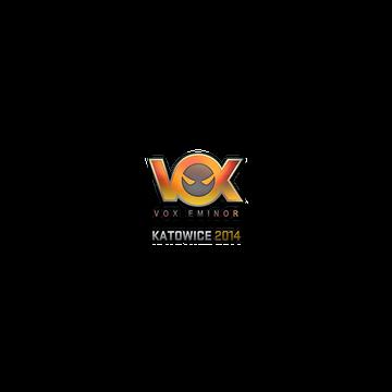 Sticker   Vox Eminor (Holo)   Katowice 2014