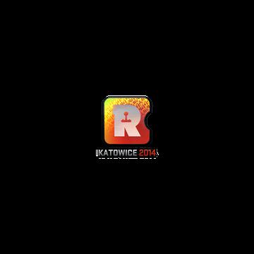 Sticker   Reason Gaming (Holo)   Katowice 2014