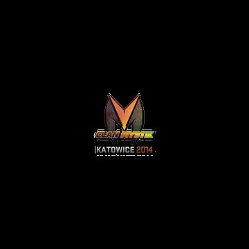 Sticker   Clan-Mystik (Holo)   Katowice 2014