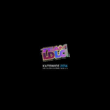 Sticker | Team LDLC.com (Holo) | Katowice 2014