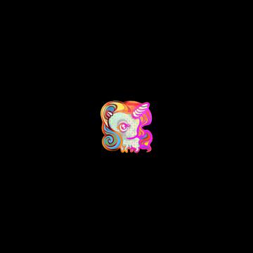 Sticker Unicorn (Holo)