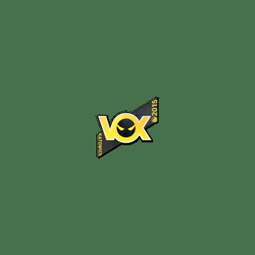Sticker Vox Eminor  | Katowice 2015