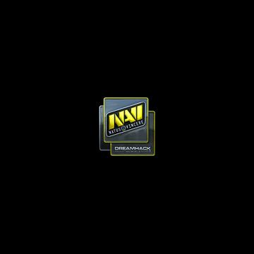 Sticker Natus Vincere (Foil) | DreamHack 2014