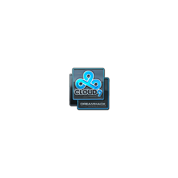 Sticker Cloud9 (Foil)   DreamHack 2014