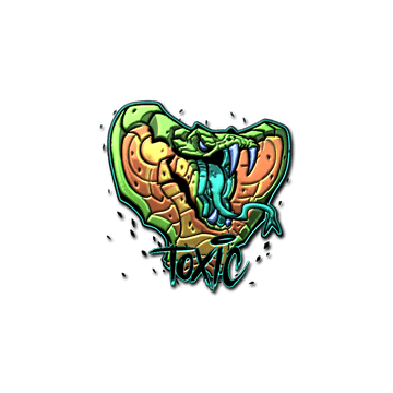 Sticker | Toxic (Foil)