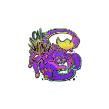 Sticker | One Sting (Holo)