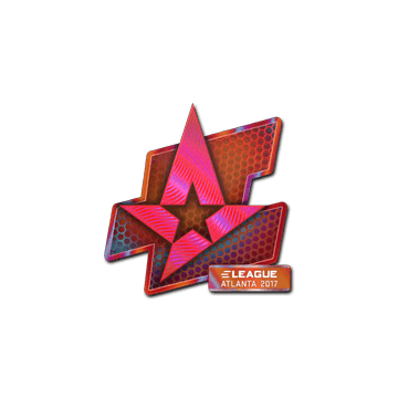 Sticker Astralis (Holo) | Atlanta 2017