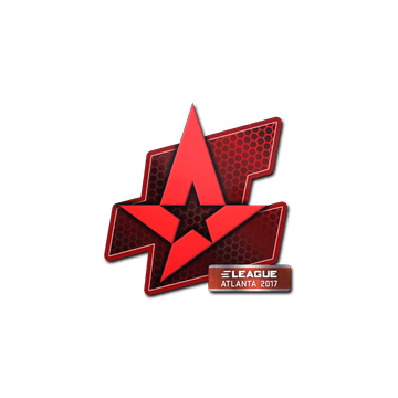 Sticker Astralis | Atlanta 2017