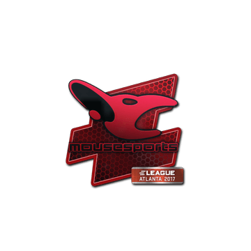 Sticker mousesports | Atlanta 2017