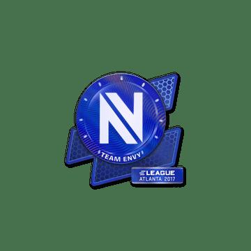 Sticker Team EnVyUs (Holo) | Atlanta 2017