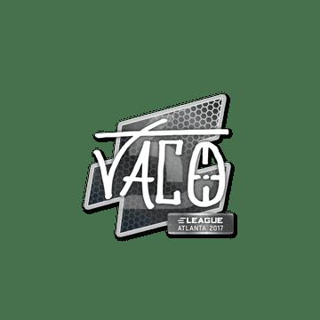 Sticker TACO | Atlanta 2017