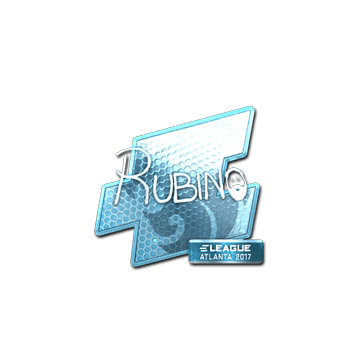 Sticker | RUBINO (Foil) | Atlanta 2017