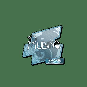 Sticker | RUBINO | Atlanta 2017