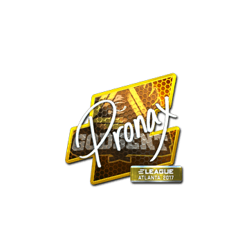 Sticker pronax (Foil) | Atlanta 2017