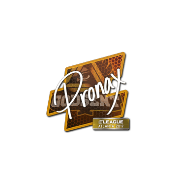 Sticker pronax | Atlanta 2017