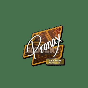 Sticker | pronax | Atlanta 2017