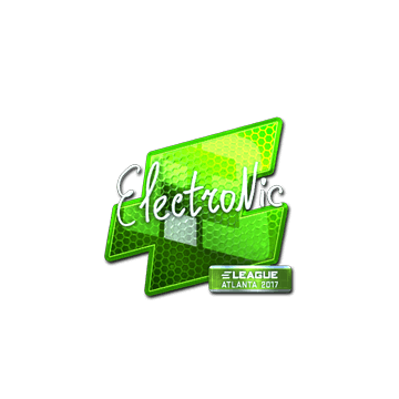 Sticker | electronic (Foil) | Atlanta 2017